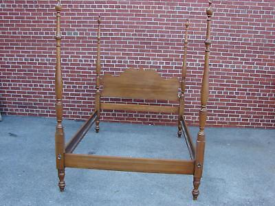 Davis Cabinet Company Solid Walnut Tall Poster Bed Full Size