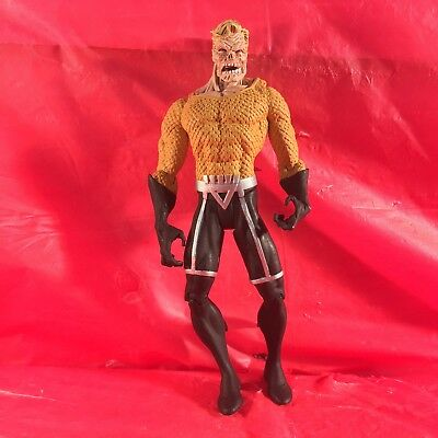 DC Direct Blackest Night Series 3 BLACK LANTERN AQUAMAN LOOSE ACTION FIGURE 6""