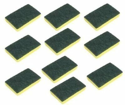 Catering Sponge Scourer Household Cleaning Accessories 10 Pack Brand New