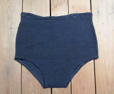 Vintage 1940s Cotton & Rayon Knit Swimsuit Bathing Suit Surfer 30/31 Boardshorts