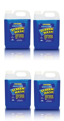 Polygard Concentrated Screen Wash for Winter / All Seasons - 4x5L = 20 Litres