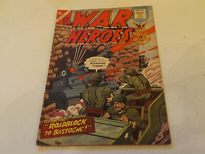 WAR HEROES PICTURE LIBRARY,NO 17,1966,GOOD FOR AGE,51 yrs old,VERY RARE.