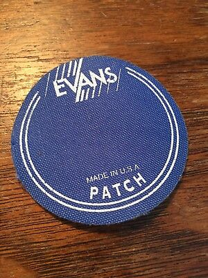 Evans Bass Drum Badge New Made In USA