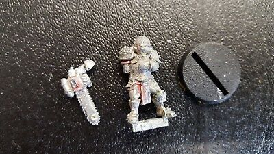 Willy Miniatures Blood Bowl Human Chainsaw x 1 Miniature