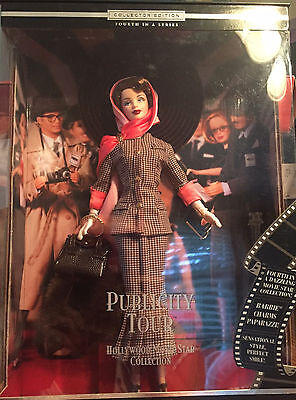 Barbie Collector Doll 2000 Publicity Tour Hollywood Movie Star Collection