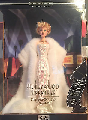 Barbie Hollywood Premiere Movie Star Maralyn Monroe 1st Series Collection 2000