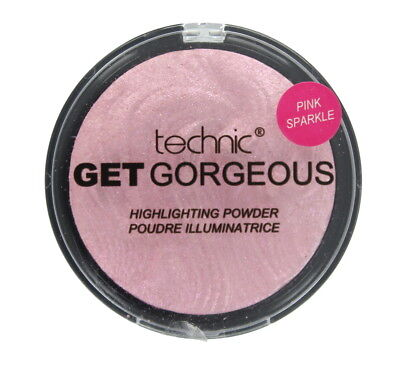 Technic Get Gorgeous Highlighting Puder 12 g-Pink Sparkle