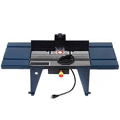 New Electric Aluminum Router Table Wood Working Craftsman Tool Benchtop