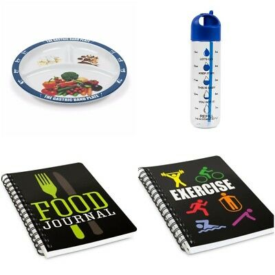 World Slimming Diet Weight Loss Kit Increment Bottle Gastric Band Portion Plate