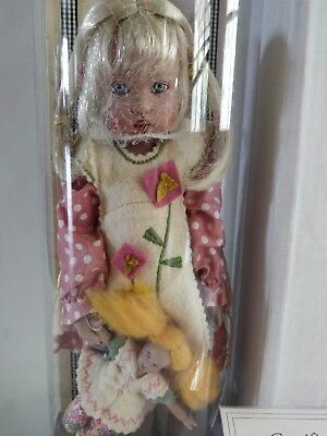 "SEALED Helen Kish Blonde Bitty Bethany 12"" Doll With Kishlet Whimsies NRFB"