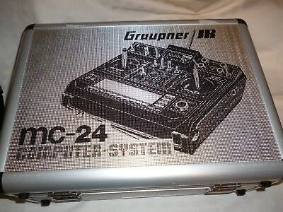 graupner MC-24 mit Koffer ,Multi-Voice-Audio-Recording-Modul