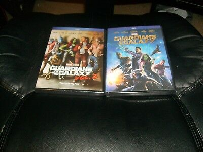 Guardians of the Galaxy and Guardians of the Galaxy Vol. 2 DVD Bundle