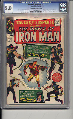 Tales of Suspense #57 CGC 6.0 First Hawkeye