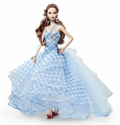 2013 NRFB Barbie Wizard of Oz Fantasy Glamour Dorothy Gold Label doll in shipper