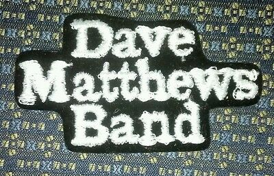 DAVE MATTHEWS BAND Iron or Sew-On Patch