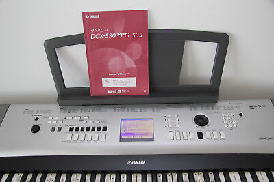 Yamaha Portable Grand Piano DGX-530 With Power Supply And Sustain Pedal
