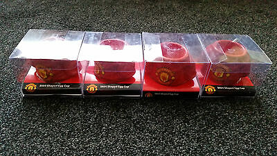 4 x Job Lot Man Utd Official Shirt Egg Cup