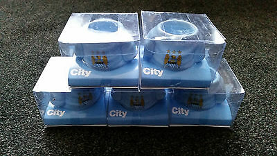 5 x Job Lot Man City Official Shirt Egg Cup