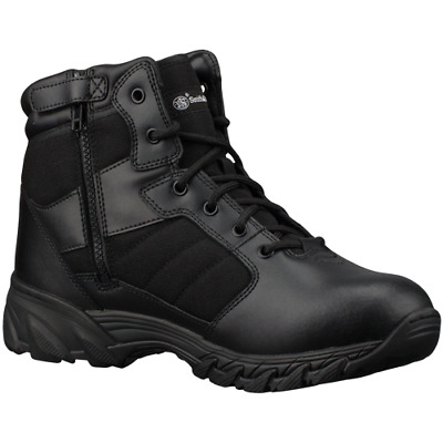 Smith And Wesson Footwear Breach 2.0 6 Side Zip Black 7 Wide