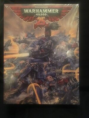 40K 25th Anniversary Limited Edition Space marine captain