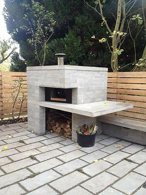 Pizza ovens, Bread ovens, Tandoori grills, smokers, Barbecues,self build plans