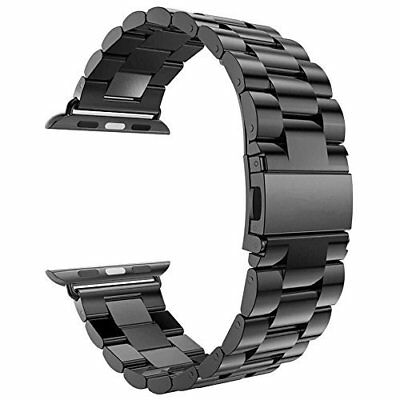 Smartwatch Stainless Steel Strap 42mm Band for Apple Watch Series 3 Space Gray