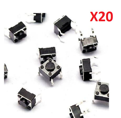 Momentary 6X6mm 4.3mm Tactile Push Button Switch SPST Mini Micro Small PCB.
