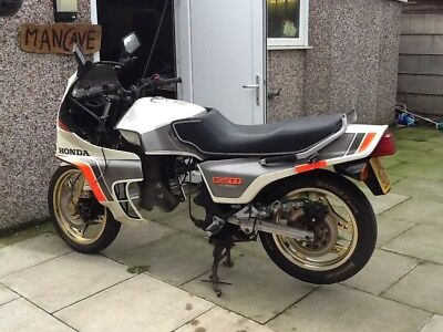Honda Cx500 Turbo , Rare Old Bike