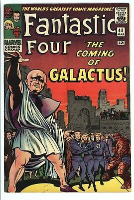 Fantastic Four #48 Vol 1 Super High Grade 1st App of Silver Surfer / Galactus