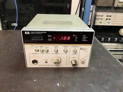HP Agilent 436A Power Meter With Option 22 And Option 002 TESTED