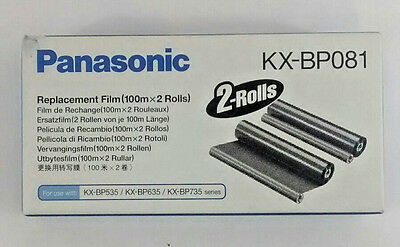 Panasonic Replacement Thermal Transfer Film KX-BP081 sealed open box 1 ROLL ONLY