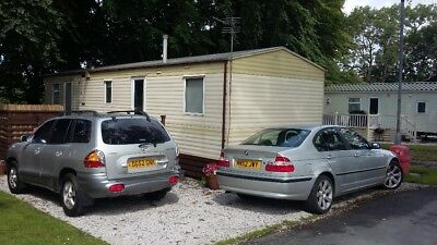 Static caravan holiday home -sited  3 bed Abi Arizona 2002 North Yorkshire