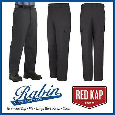 Cargo Work Pants - Red Kap - Black - New - IRR ALL SIZES