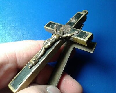 Ancient Bronze Cross. Big !!!