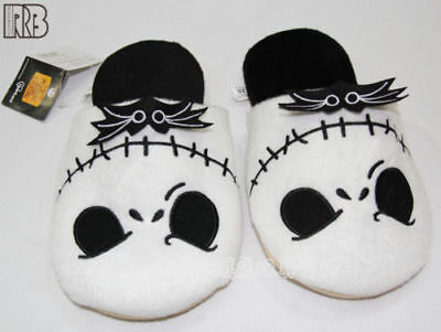 The Nightmare Before Christmas Jack Skellington Soft Plush Slippers Halloween