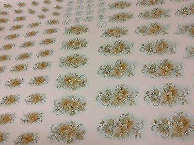 Water Slide Ceramic Transfers Prints Lithos Decals Motifs Assorted Sizes