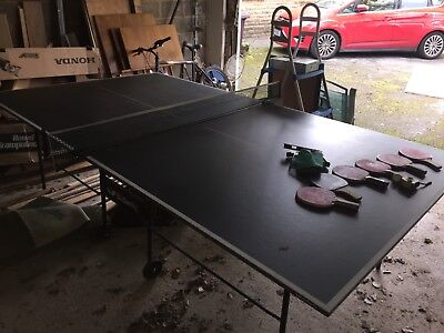 Butterfly Table Tennis Table Foldaway / Rollaway - Used
