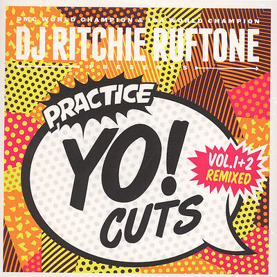 "D J Ritchie Ruftone Pres Practice Yo Cuts Volume 1 & 2 Remixed New Uk 7"" Sealed"