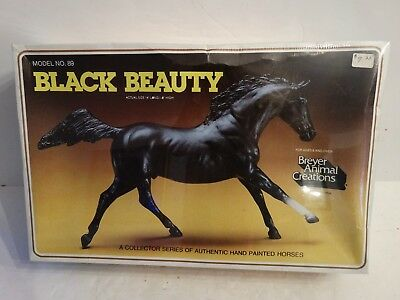 Vintage Breyer horse #89 black beauty mint in box dated 1982