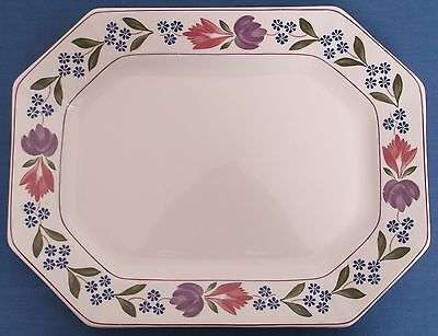 Adams Old Colonial Large Serving Platter Made In England