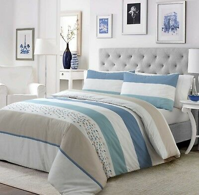 Fabulous All Sizes 100% Egyptian Cotton Printed Duvet Cover Sets Bedding Sets