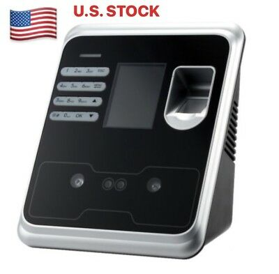 BioMetric Time Clock with Face Recognition, Fingerprint or PIN Access (HI02)