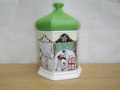 "Wade ""Goose Fair"" Ceramic Biscuit Barrel  by Judith Wootton"