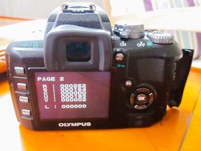 Olympus E-400 Plus Lens - Very Low Shutter Count!