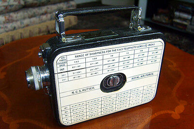 Cine Kodak Eight Model 60.    - Royal Air Force.