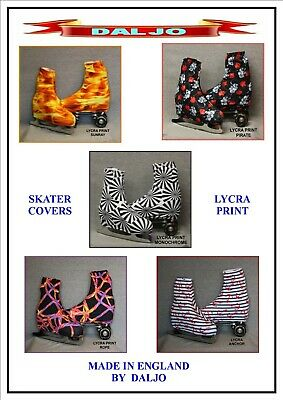 Ice Skating / Roller Skating  Lycra Print Boot Covers No 3