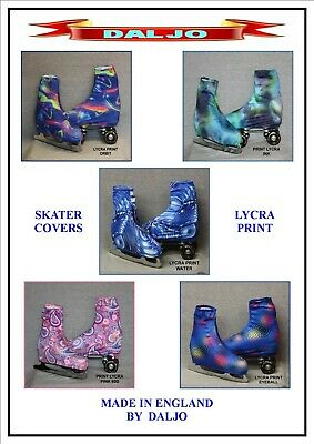 Ice Skating / Roller Skating  Lycra Print Boot Covers  No 4