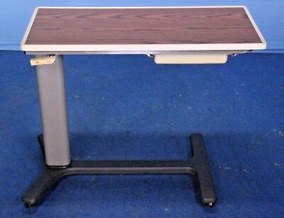 Hill-Rom Hillrom Bedside Hospital Bed Table Bedside Table Overbed Table Warranty