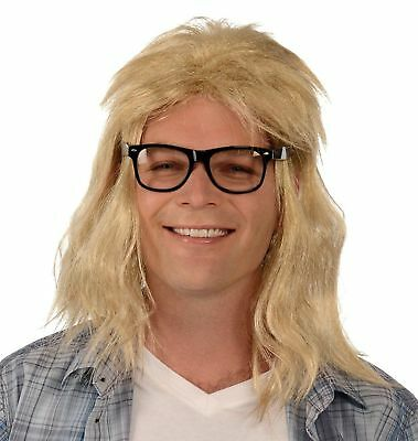 Garth Wig & Glasses