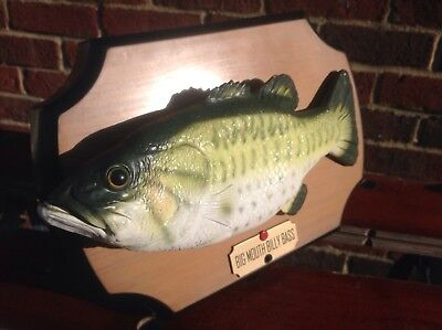 Billy bass singing fish picclick uk for Big mouth fish